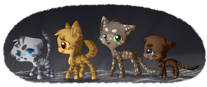 Medicine Cats of the Clans by hikari2314