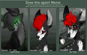 draw this again! meme /2016 by spookydoge