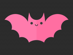 Pink Bat by apparate