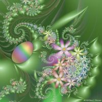 The Undiscovered Egg by FireLilyFractals