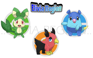 Starters of Elivia by Elivia-Region