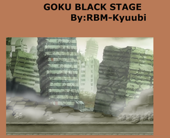Goku Black Stage by RBM-Kyuubi