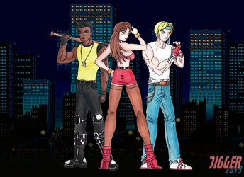 Streets of Rage by PDM-Digger