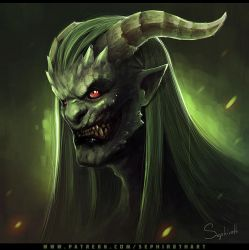 Demon by Sephiroth-Art
