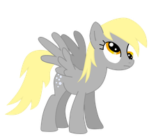 Derpy is Thinking by WillowTails