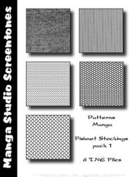 Patterns MangaStudio pack 4 by bakenekogirl