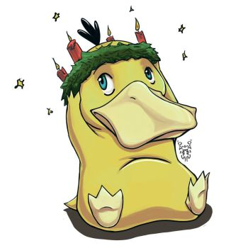 Very Psyduck Christmas by One2See4Five