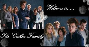 The Cullen Family by call-me-sayuri