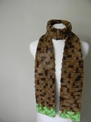 Minecraft scarf by see-through-silence