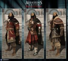 Assassin's Creed Revelations : The Count - Customs by Dipnusurf