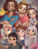 Game Grumps Community Celebration Artbook by allisonhowle