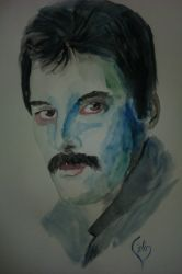 My respects to Freddie by calinuz
