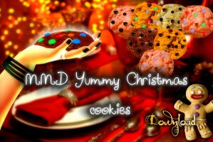 MMD DOWNLOAD Yummy christmas cookies by salutcoucou