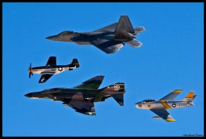Nellis Heritage 2010 by AirshowDave