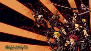 PSP WALLPAPER FFVII-CrisisCore by josejua
