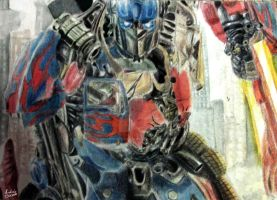 Optimus Prime by Andres-Morales