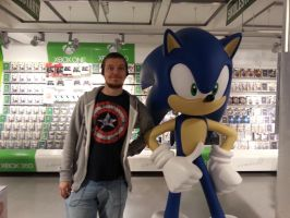 Me and Sonic! by MarnicSteve92