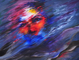 Atonement - oil on canvas by SamanthaLi
