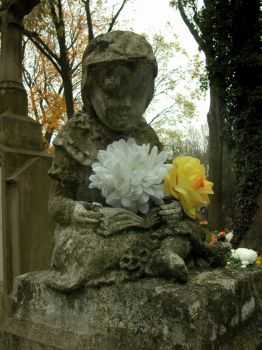 Memorial monuments -  Little Angels I by Silvannia