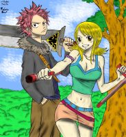 Fairy Tail and Rave !! by Na-tsu-na27