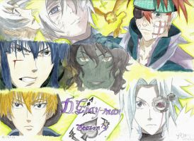 D. Gray-man, Season 3 -colored by MoPotter
