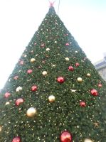 Union Square Christmas Tree by discoinferno84