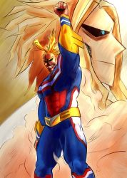 All-Might: The Greatest Hero by TheHentaiArtist