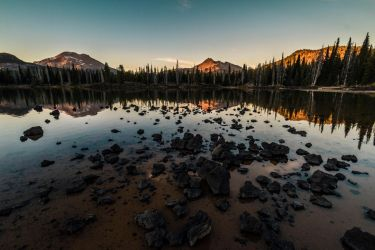 Sparks Lake Reflections by 5isalive