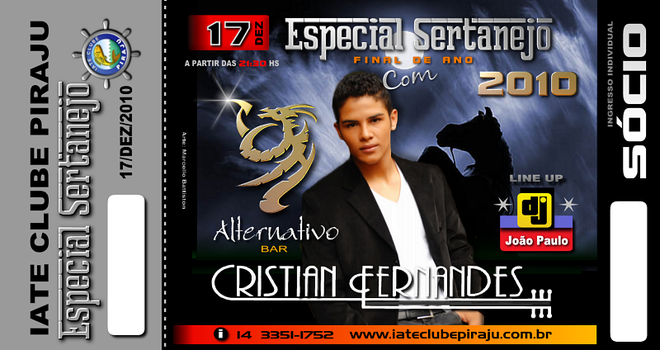 Ingresso Cristian Fernandes by battiston