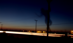 Pan out on the Highway by EnsigneProductions