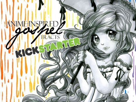 Anime-Inspired Gospel Tracts - Kickstarter Project by Gezusfreek
