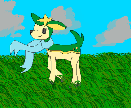 Art Trade -- One Little Deerling by Courtney-Flamesong