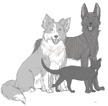 Family - Commission by Nala91