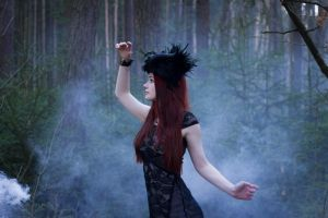 Elayne - gothic stock by Liancary-art