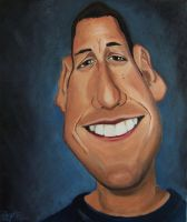 Adam Sandler Caricature 2 by drawmyface