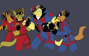 Once and Future Swat Kats by Ty-Chou