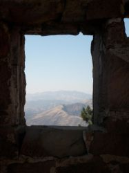 View through the ruins by LadyMordred