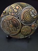 Gallifreyan Language - Gallifrey Speaks #3 by FireVerseCeramics