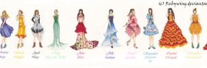 Fashion Collection: BIRTHFLOWER by RubyWing