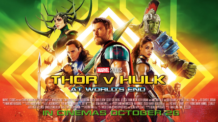 Thor v Hulk: At World's End by Kirby-Force