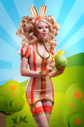 Easter Bunny by Ophelia-Overdose