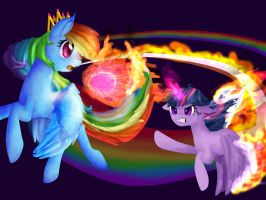 You Stole My Crown!!!! by MirageComet