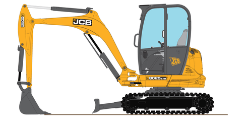 Jcb 8025zts by nino39