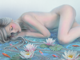 Lotus Dream by LadyEvilArts