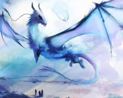 LMS: Ice Dragon by ananovik