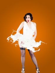 Milk Pinup Wonder 02 by JazzyPhoto