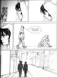 RaW - 'Lost and Found' page 11 by kamesen