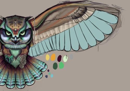 owl preview by JordanMendenhall