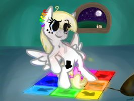 late night dose of DDR by InkTehKitty