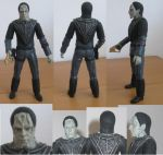 Cardassian soldier - Star Trek custom actionfigure by bobye2